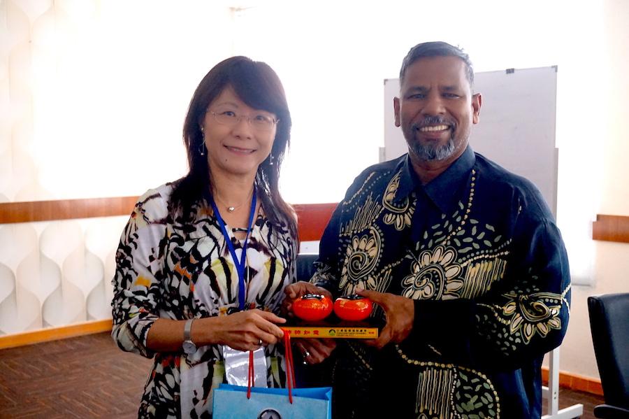 圖說:回收基管會宋副執行秘書率團拜會麻六甲州政府投資發展機構(Melaka State Develop-ment Corporation) General Manager Mr. Ramli