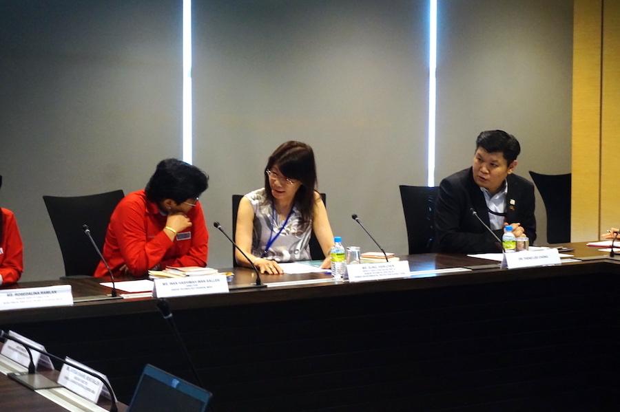 圖說:回收基管會拜訪馬來西亞投資發展局(Malaysian Investment Development Authority,簡稱MIDA),主要為協助投資者的官方角色。希望透過交流,瞭解馬來西亞當地環保產業發展